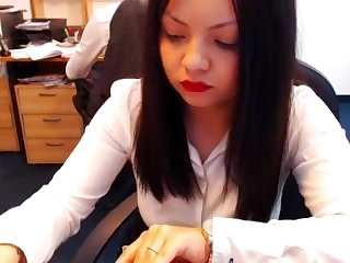 webcam at work