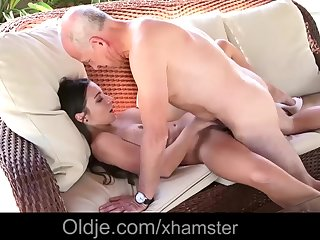 Busty young wife exotic blowjob doggy..