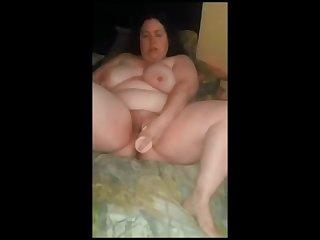 Fucking my chubby BBW Ex GF wet hot..