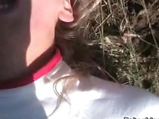 Great amateur outdoor sex video