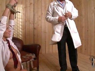 Doctor Ties Up Schoolgirl P2