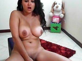 busty latina rides dildo- Claridad