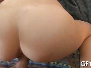 Teen uses a cock hard cock